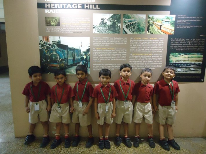 VISIT TO RAIL MUSEUM