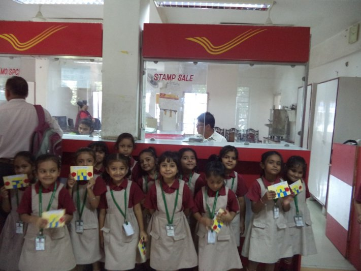 VISIT TO POST OFFICE