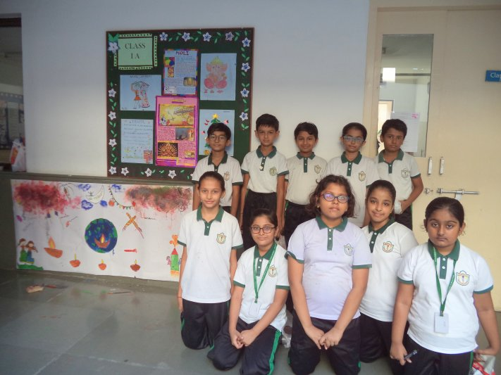 WALL PAINTING CLASS V