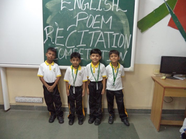 CLASS-I POEM RECITATION(ENGLISH)