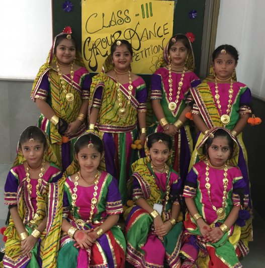 CLASS-III GROUP DANCE