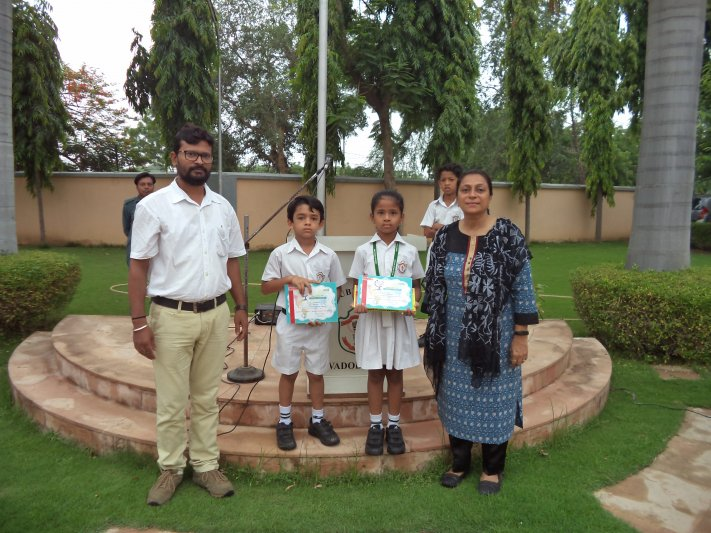 AWARDEES-CAMLIN ART CONTEST 2018