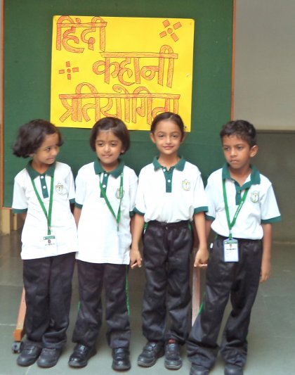 CLASS-I STORY TELLING(HINDI)
