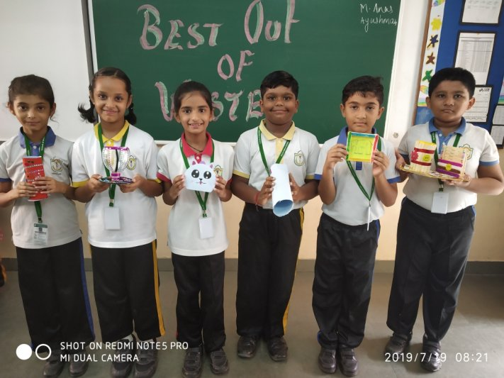 CLASS-III BEST OUT OF WASTE