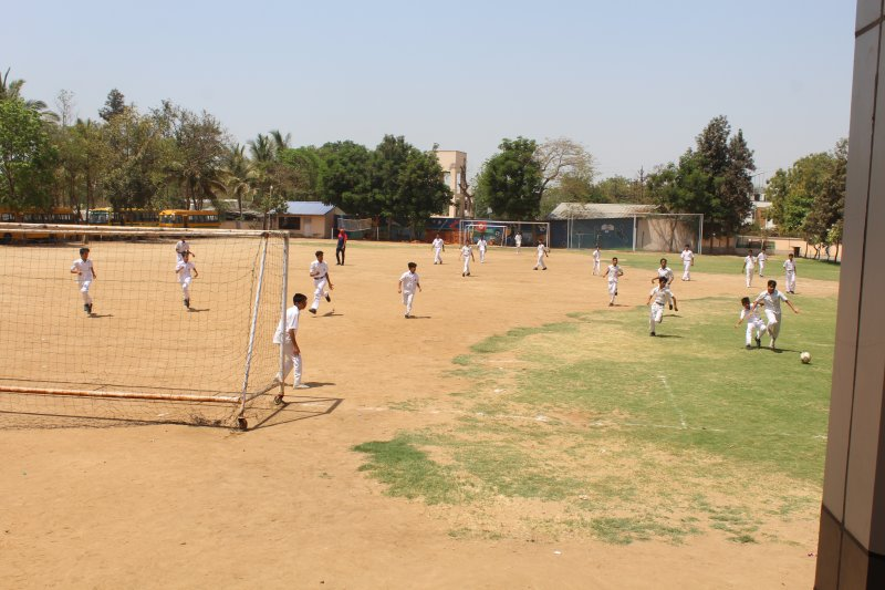 Day One _Assembly and football match