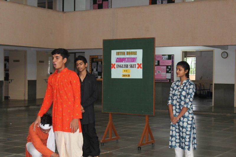 Inter House English Skit and Declamation