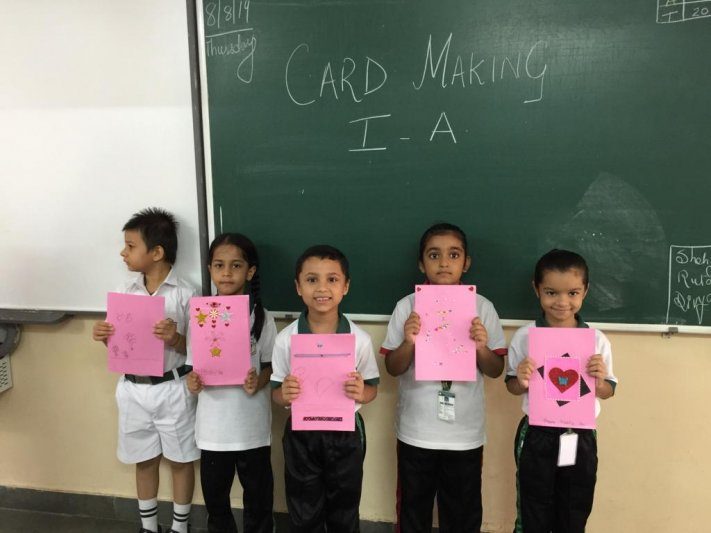 CLASS-I  CARD MAKING