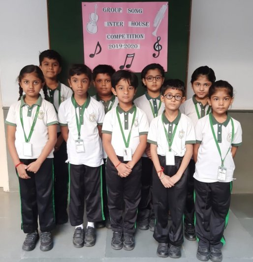 CLASS II - GROUP SONG