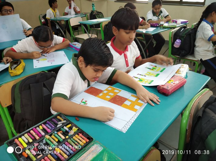 CLASS IV - POSTER MAKING