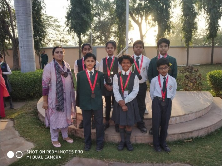 NATIONAL HINDI OLYMPIAD-AWARDEES
