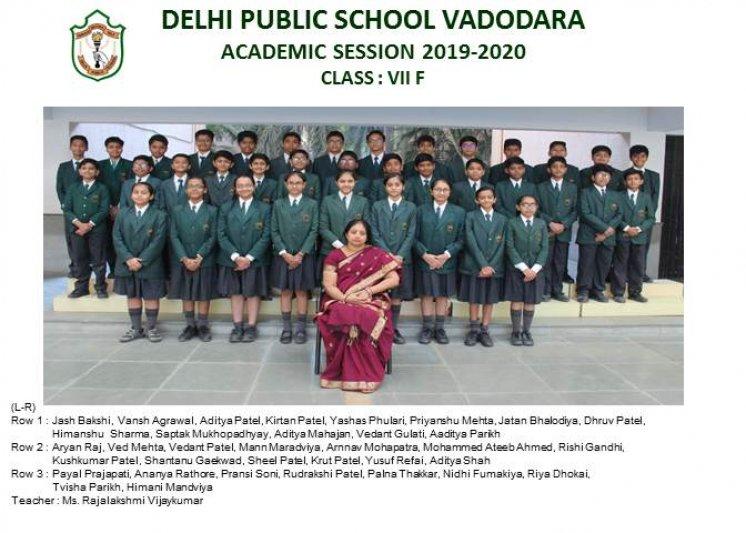CLASS PHOTOGRAPHS - VII
