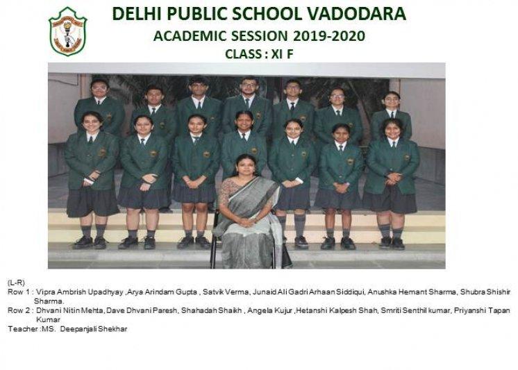 CLASS PHOTOGRAPHS - XI