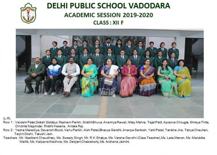 CLASS PHOTOGRAPHS - XII