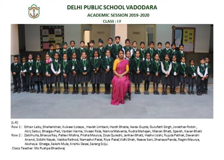 CLASS PHOTOGRAPHS - I